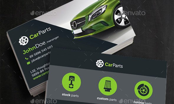 Car Service Business Cards Awesome 21 Cool Carservice Business Card Design Templates – Design Freebies