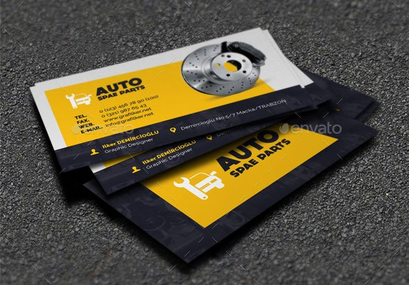 Car Service Business Cards Fresh 20 Best Automotive Business Card Design Templates