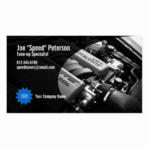 Car Service Business Cards Fresh Engine Repair Business Card Templates