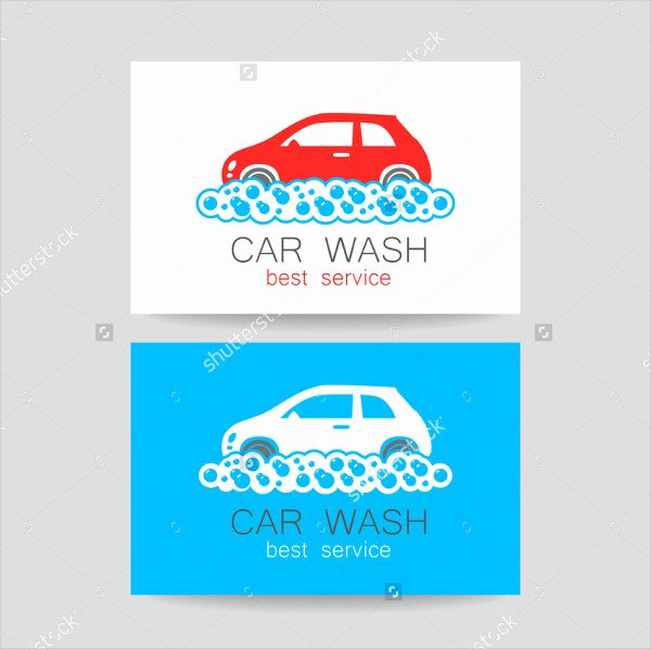Car Service Business Cards Inspirational 19 Car Wash Business Card Templates Free & Premium Download