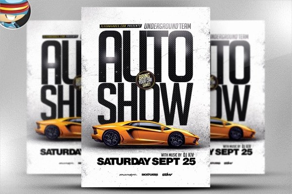 Car Show Flyer Template Beautiful 26 Modern Car Show Flyer Designs & Creatives Ai Docs Psd