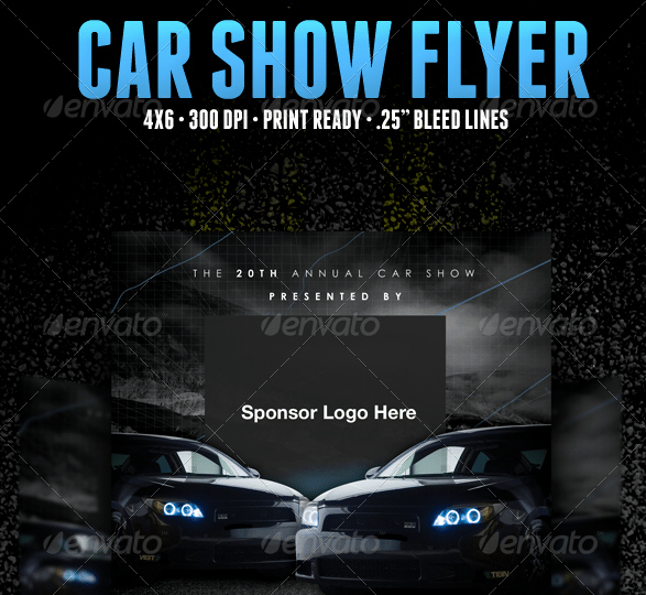 Car Show Flyer Template Free Fresh 5 Free Car Show Flyer Templates Excel Pdf formats