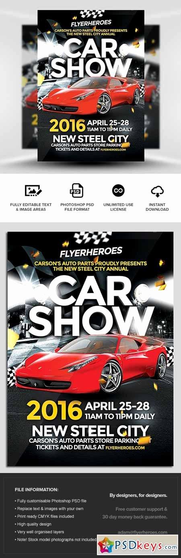 Car Show Flyer Template Free Unique Car Show Flyer Template Free Download Shop Vector Stock Image Via torrent Zippyshare From
