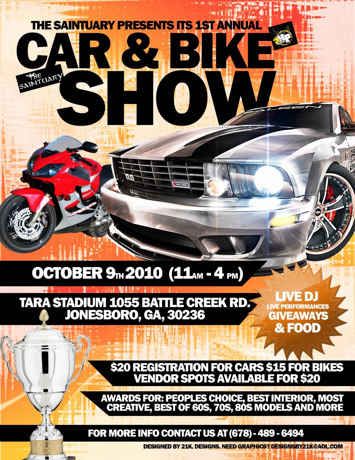 Car Show Flyer Template New 19 Of Bike Car Show Template