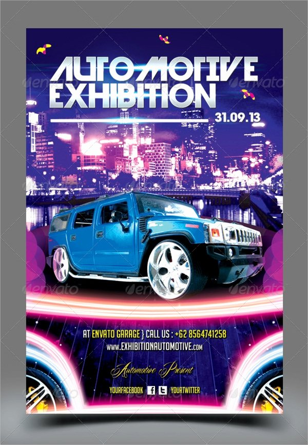 Car Show Flyer Template New 21 Car Show Flyer Templates Psd In Design Ai