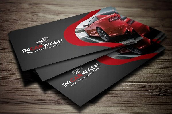 Car Wash Business Cards Best Of 19 Car Wash Business Card Templates Free & Premium Download