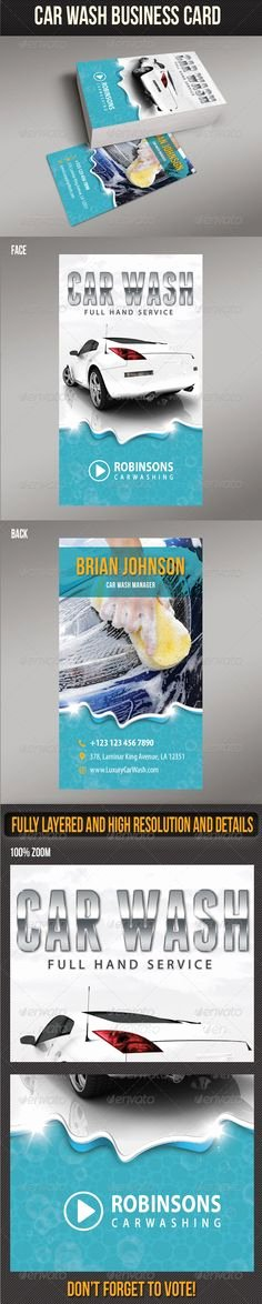 Car Wash Business Cards Best Of Business Promotion Car Wash