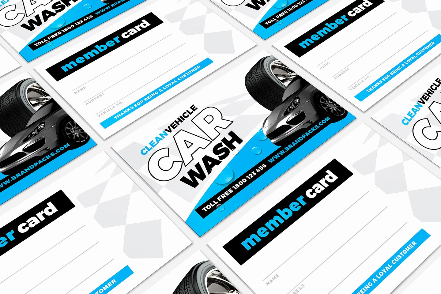 Car Wash Business Cards Elegant Car Wash Business Card Template In Psd Ai & Vector Brandpacks