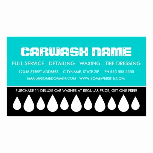 Car Wash Business Cards Lovely Car Wash Business Cards 1 000 Car Wash Busines Card Template Designs