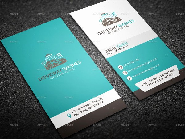 Car Wash Business Cards Luxury 19 Car Wash Business Card Templates Free & Premium Download