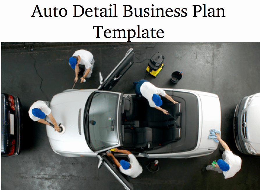 Car Wash Business Plan Pdf Lovely Car Wash Auto Detail Business Plan Black Box Business Plans