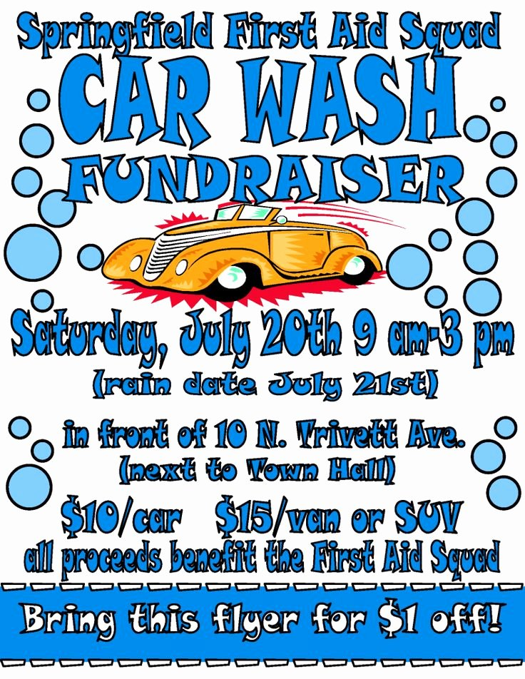 Car Wash Flyer Template Free Beautiful 80 Best Images About Fundraising On Pinterest