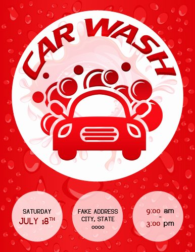 Car Wash Flyer Template Free Best Of Ms Word Car Show Flyer Template