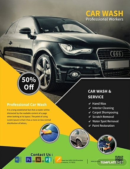 Car Wash Flyer Template Free Inspirational 508 Free Flyer Templates Word Psd Indesign Apple Pages Publisher