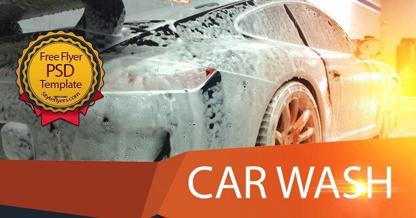 Car Wash Flyer Template Free Inspirational Car Wash Free Psd Flyer Template Free Download Styleflyers