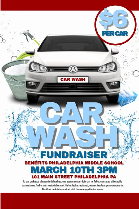 Car Wash Flyer Template Free Inspirational Copy Of Car Wash