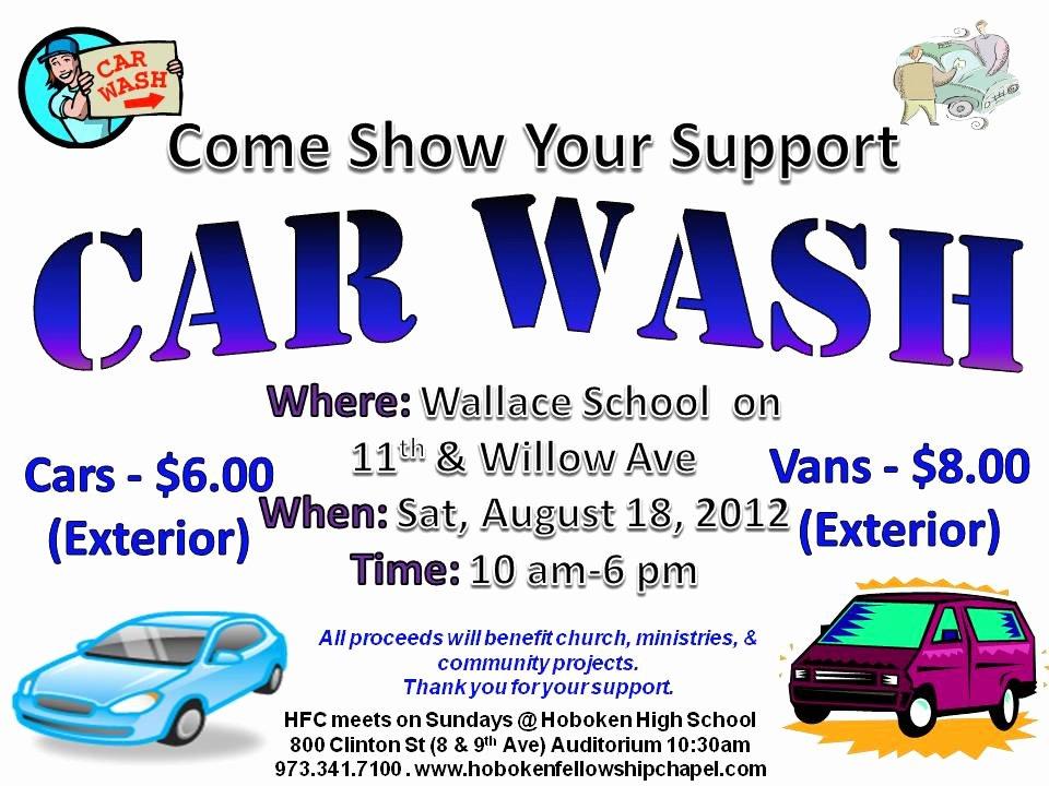 Car Wash Flyer Template Free Luxury Car Wash Flyer