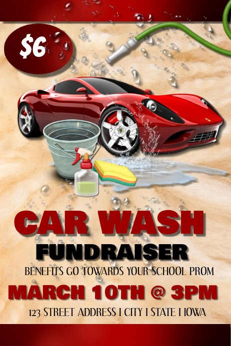 Car Wash Flyer Template Free New Car Wash Template