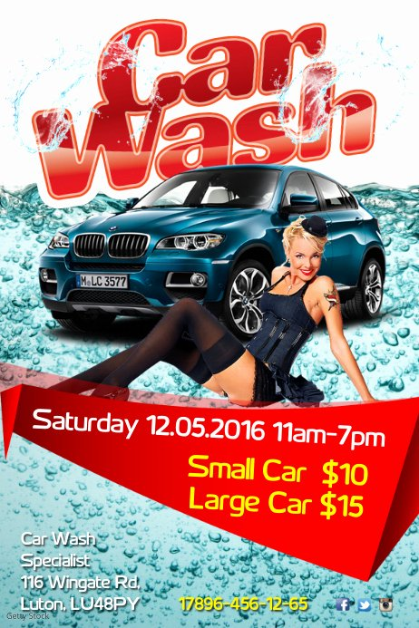 Car Wash Flyers Template Awesome Carwash Flyer Template