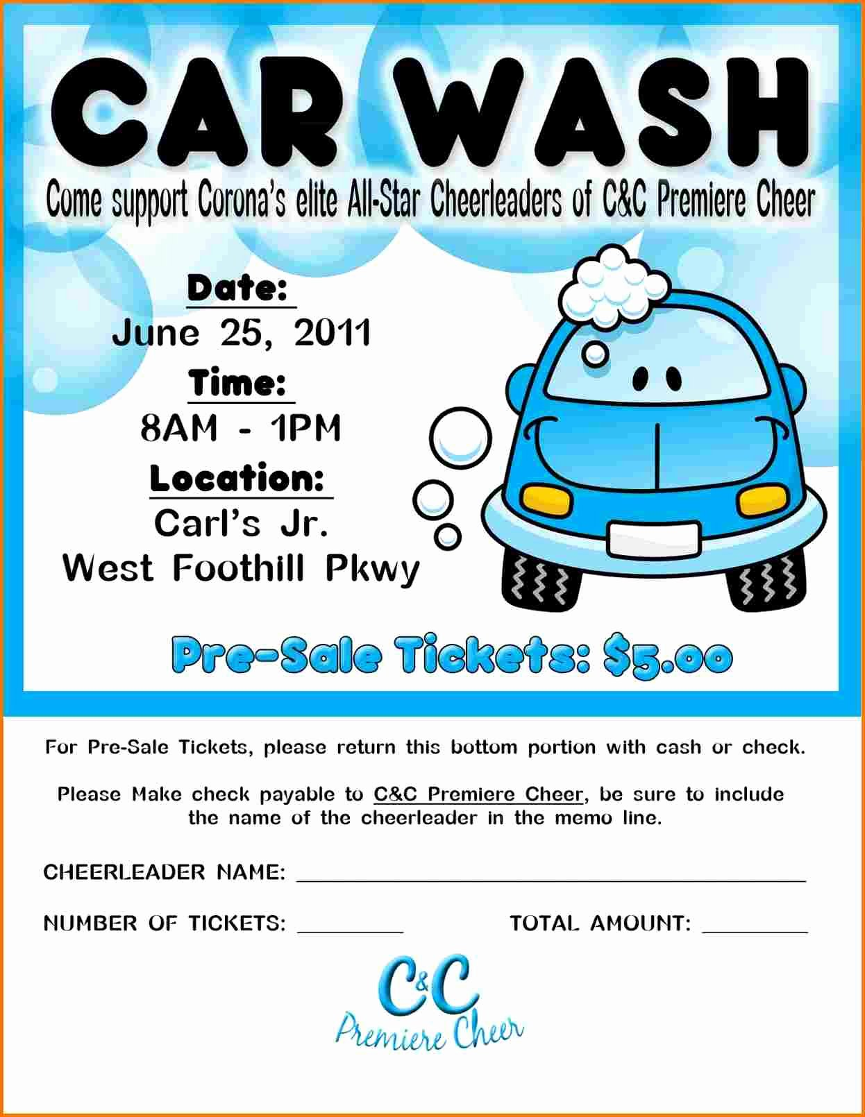 Car Wash Flyers Template Beautiful Car Wash Flyer Template