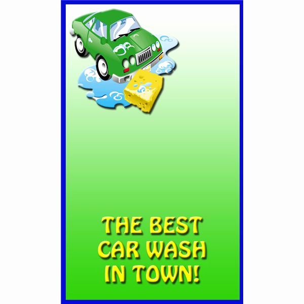 Car Wash Flyers Template Best Of Free Sample Car Wash Flyer Templates