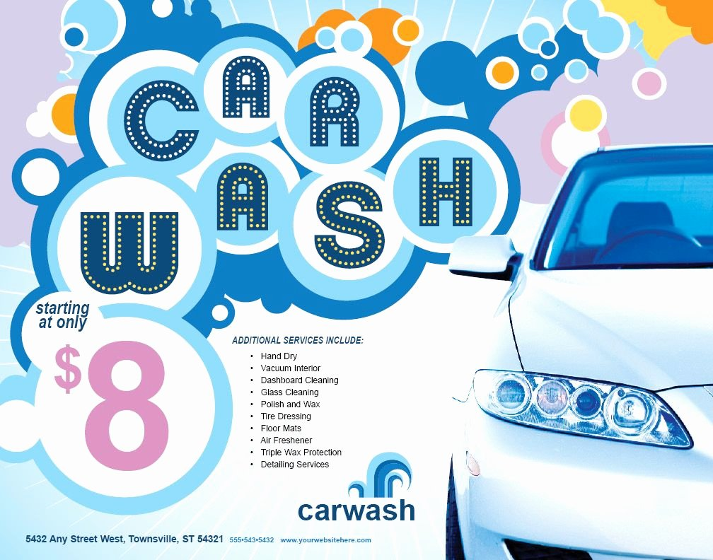 Car Wash Flyers Template Best Of Pin by Rachel Terry On Car Wash Flyer Inspiration