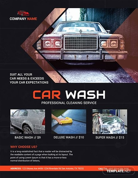 Car Wash Flyers Template Elegant Free Business Flyer Template Download 765 Flyers In Psd Illustrator Word Publisher Apple
