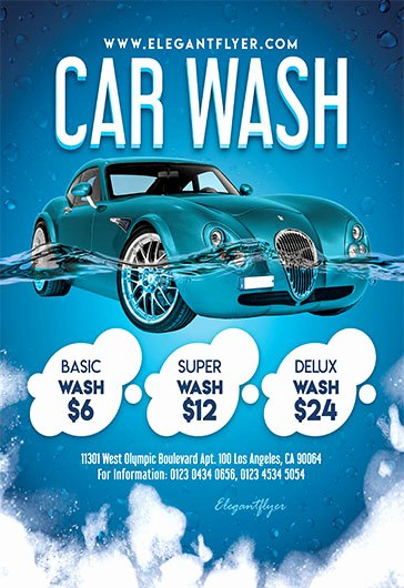 Car Wash Flyers Template Fresh Car Wash Flyer Template Free Cti Advertising