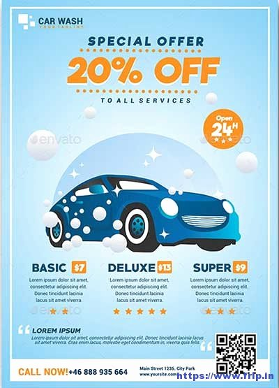 Car Wash Flyers Template New 20 Best Car Wash Flyer Print Templates 2018