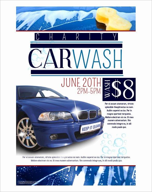 Car Wash Fundraiser Flyers Beautiful 48 Fundraiser Flyer Templates Psd Eps Ai Word