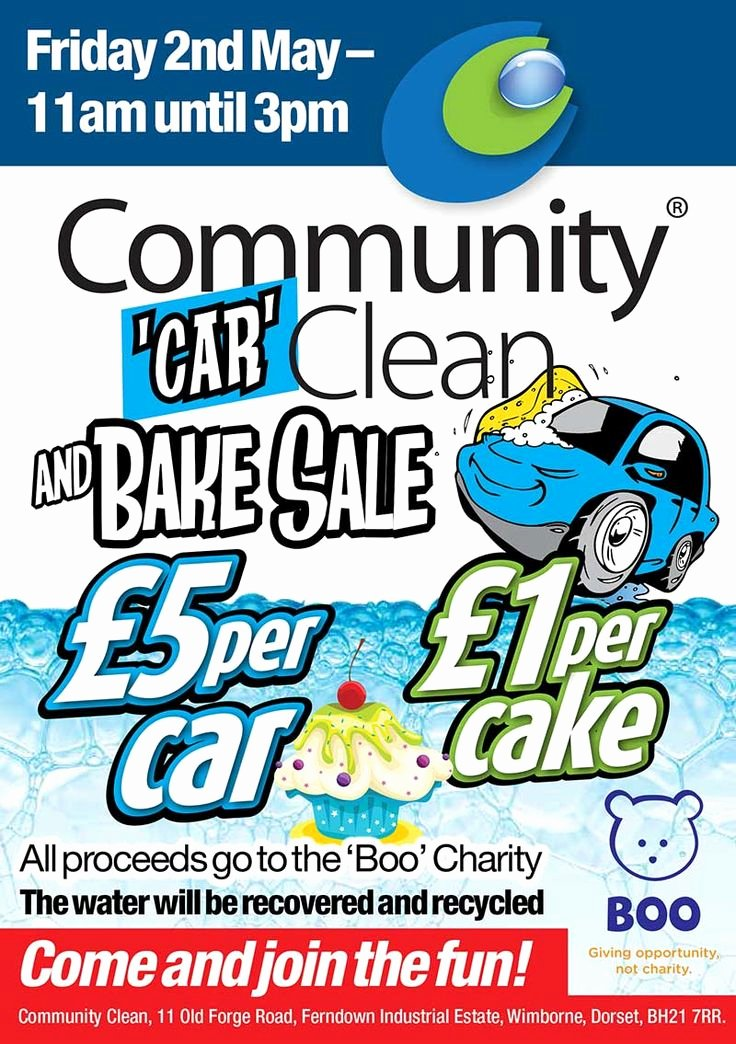 Car Wash Fundraiser Flyers Elegant Best 25 Bake Sale Flyer Ideas On Pinterest