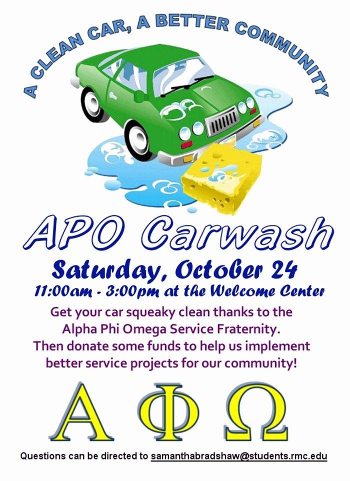 Car Wash Fundraiser Flyers Fresh organization event Flyers