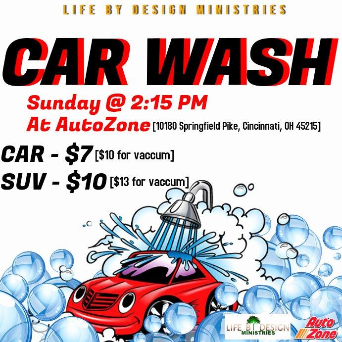 Car Wash Fundraiser Flyers Luxury Car Wash Flyer Template