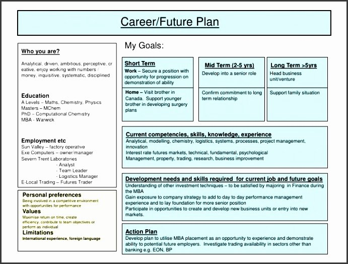 Career Action Plan Template Elegant 5 Job Action Plan Template Sampletemplatess