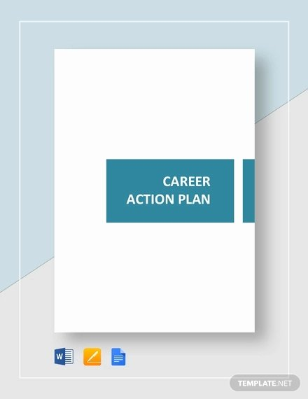 Career Action Plan Template Fresh 7 Career Plan Templates Word Pdf Google Docs Apple