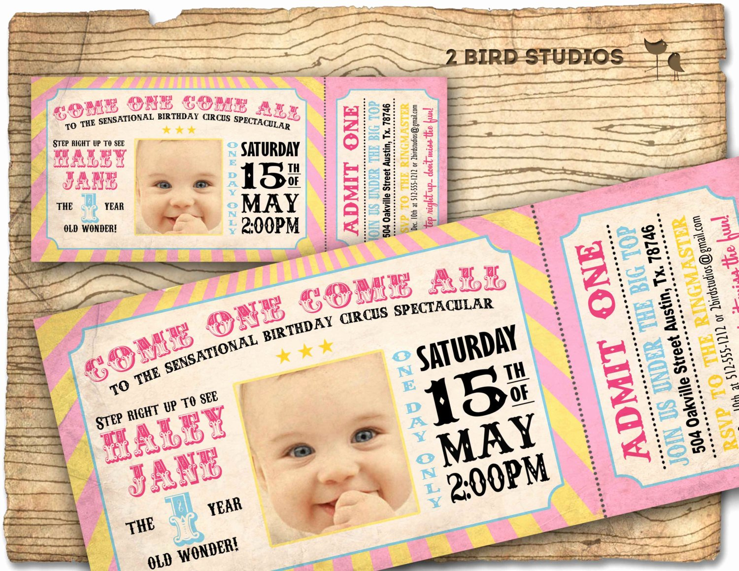 Carnival Birthday Party Invitations Best Of Circus Invitation Girls Carnival Party Invitation by 2birdstudios