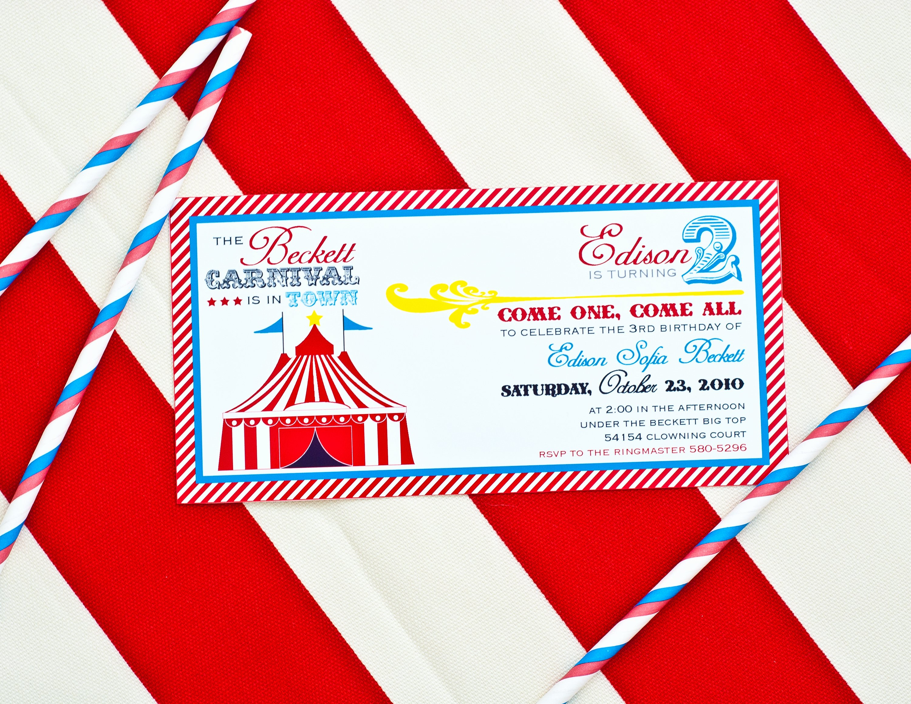 Carnival Birthday Party Invitations Inspirational Carnival Party Printables Round Up anders Ruff Custom Designs Llc