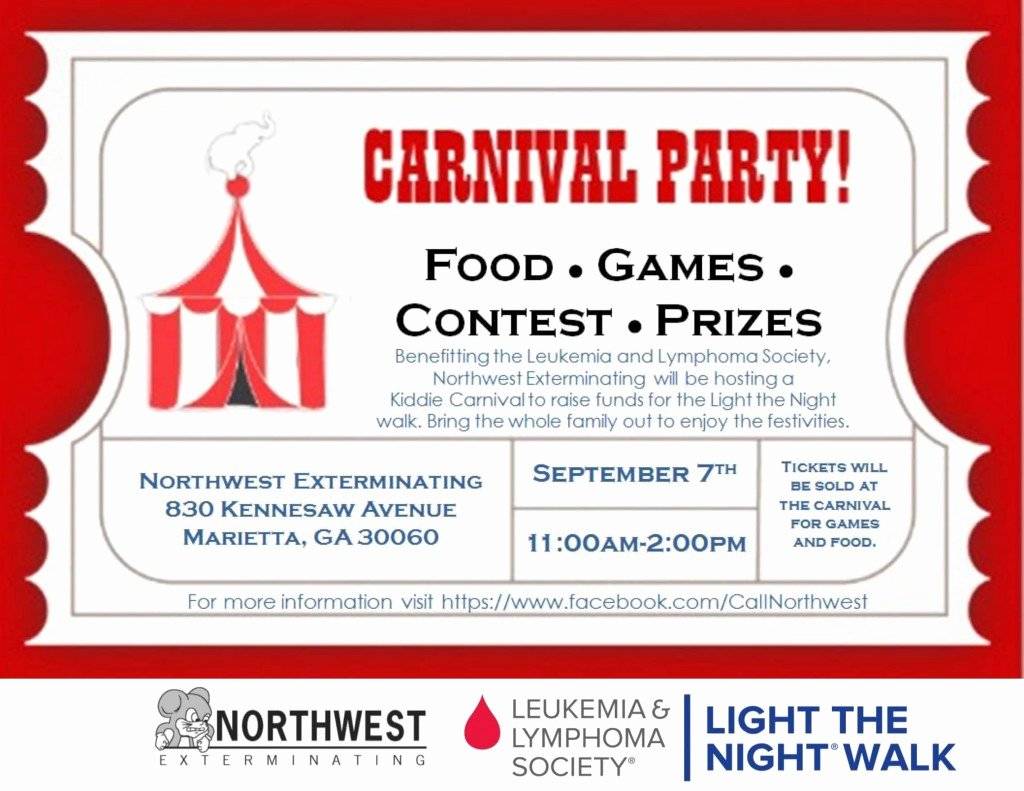 Carnival Flyer Template Free Inspirational Carnival Party