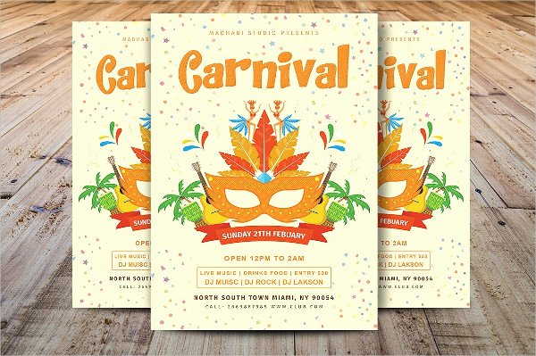 Carnival Flyer Template Free New 23 Circus Flyer Templates Free Premium Psd Vector Eps Downloads