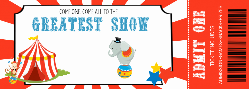 Carnival Invitation Template Free Lovely How to Throw A Fun Circus Party – Fun Squared