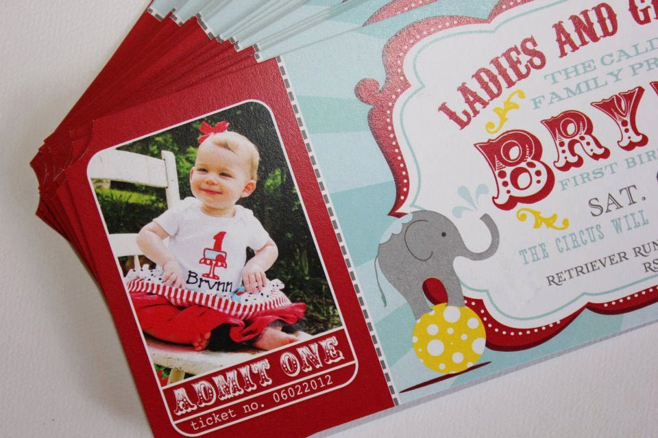 Carnival themed Birthday Invitations Awesome Carnival Birthday Party Invitations Circus Baby Shower