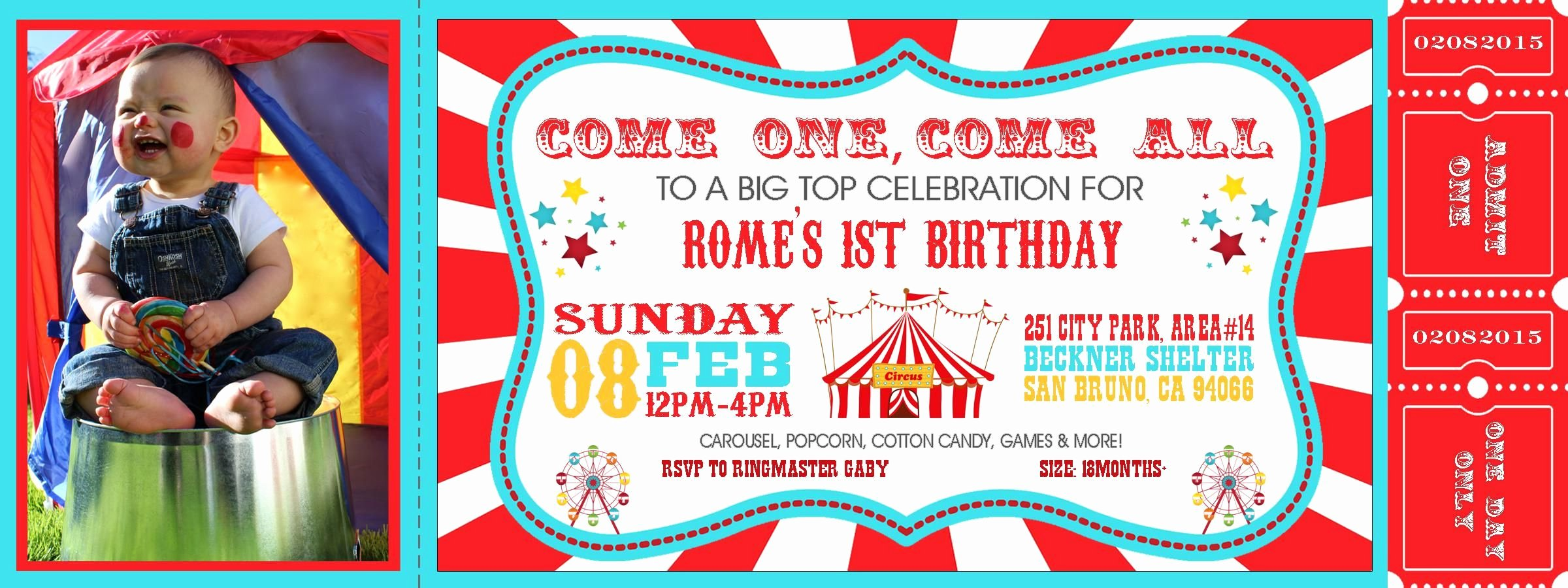 Carnival themed Birthday Invitations Lovely Carnival theme Party Invitations Invitation Card Design Let S Party