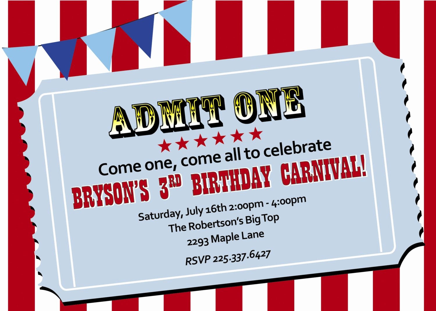 Carnival themed Birthday Invitations Unique Chandeliers & Pendant Lights