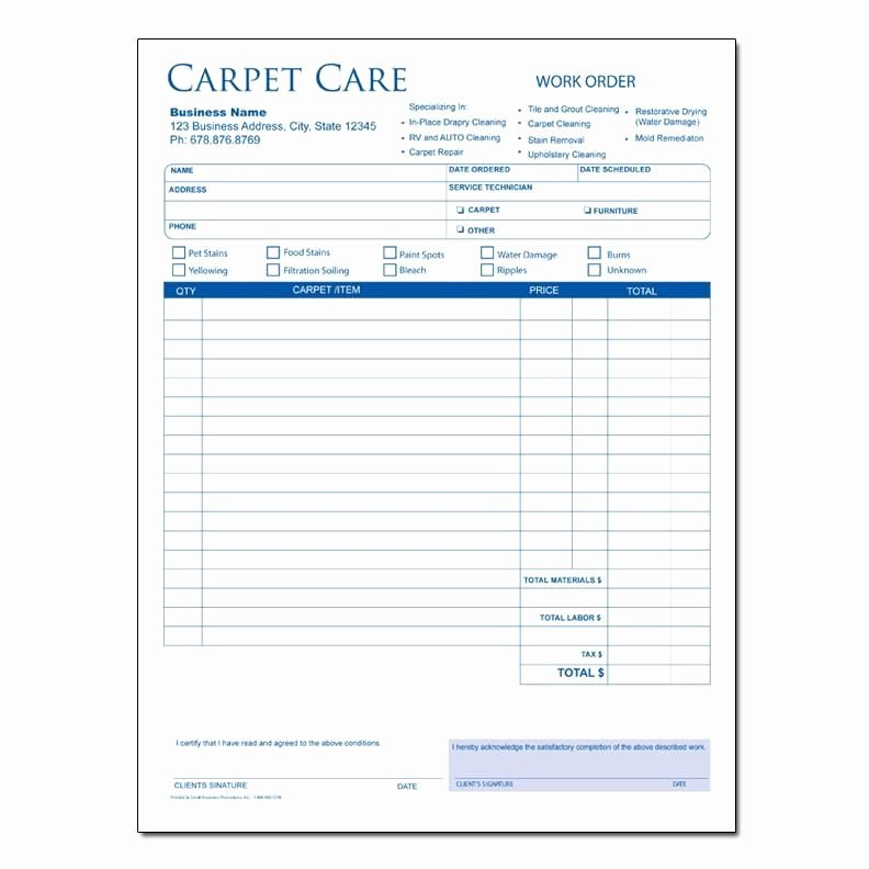Carpet Cleaning Invoice Template Unique Carpet Cleaning Invoice Sample