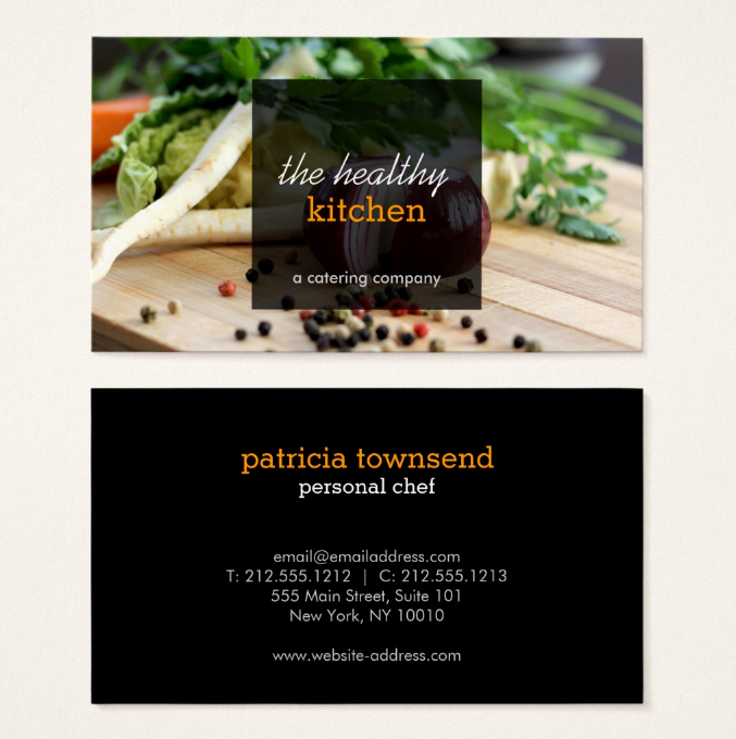 Catering Business Card Ideas Awesome 22 Catering Business Card Templates Ai Word Psd