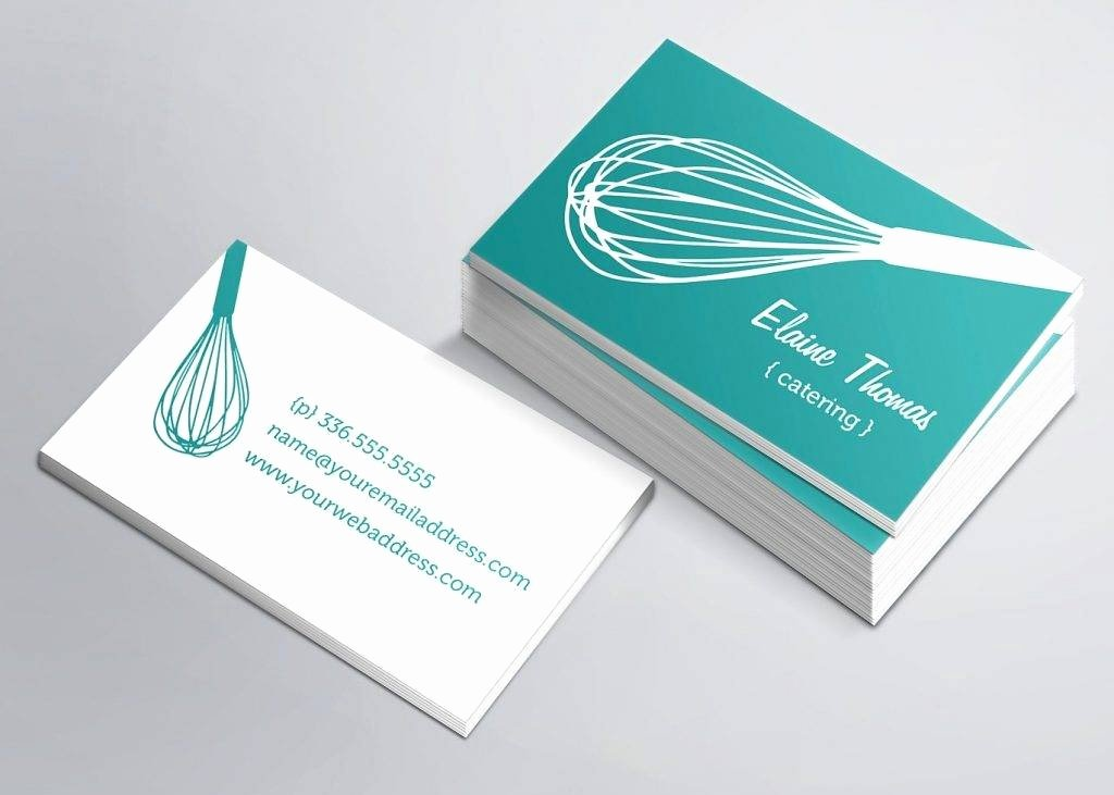 Catering Business Card Ideas Awesome Free 19 Catering Business Card Templates In Publisher Word Shop