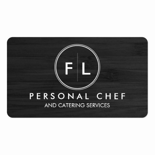 Catering Business Card Ideas Beautiful Cutting Board Personal Chef Catering Business Card