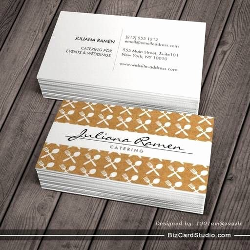 Catering Business Card Ideas Best Of 1000 Images About A Catering Kit On Pinterest