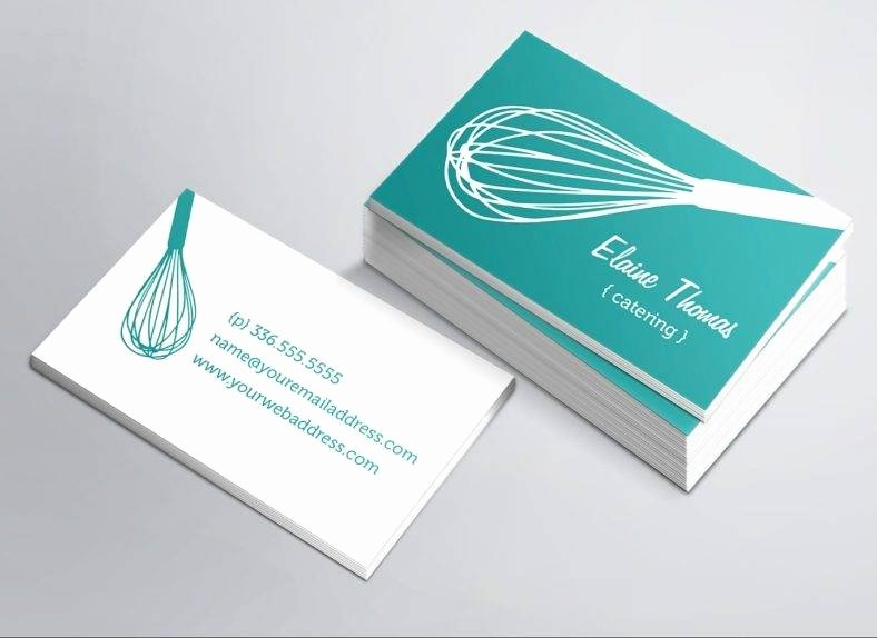Catering Business Card Ideas Fresh 22 Catering Business Card Templates Ai Word Psd