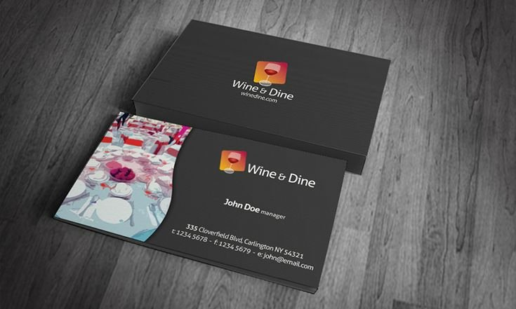 Catering Business Card Ideas Inspirational Business Card Templates Digital Takeaway Restaurants Business Cards